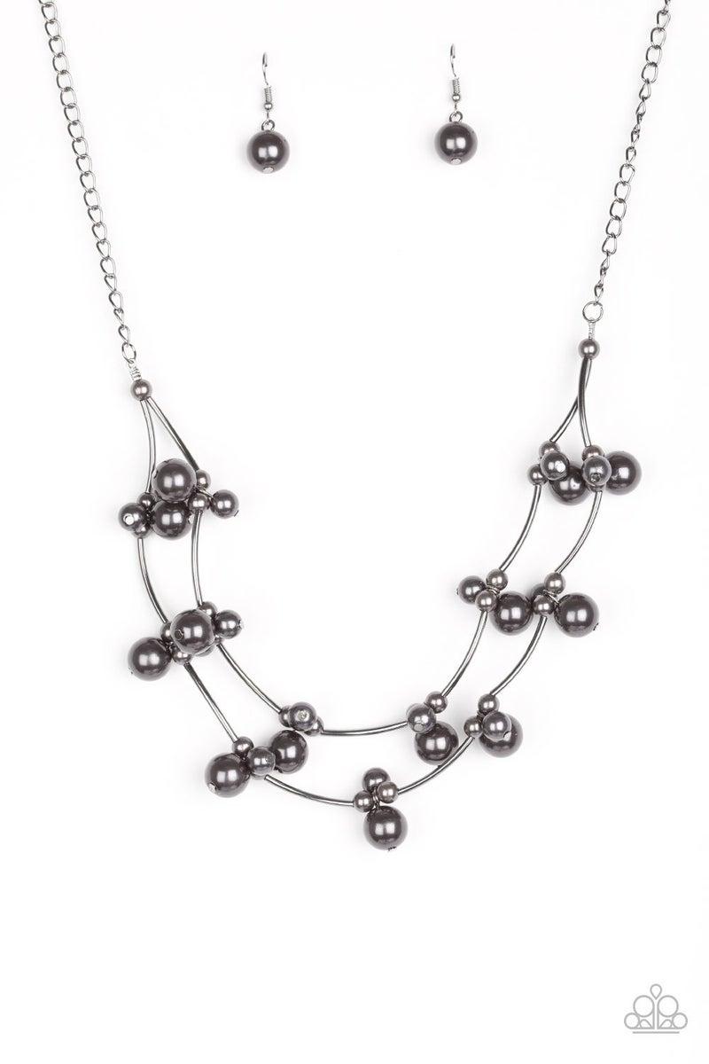 Wedding BELLES - Black necklace