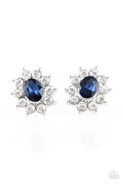 Starry Nights - Blue Earrings
