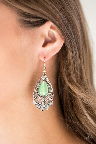 Majestically Malibu - Green Earring