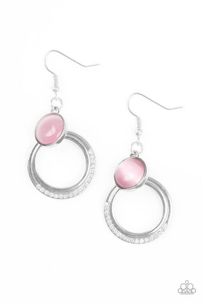 Dreamily Dreamland - Pink earring