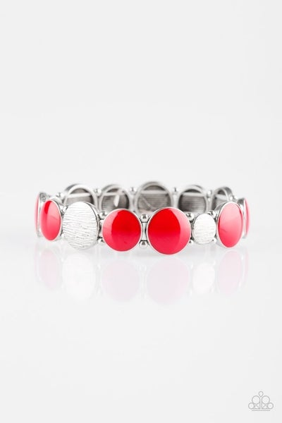 Bubble Blast - Red Bracelet