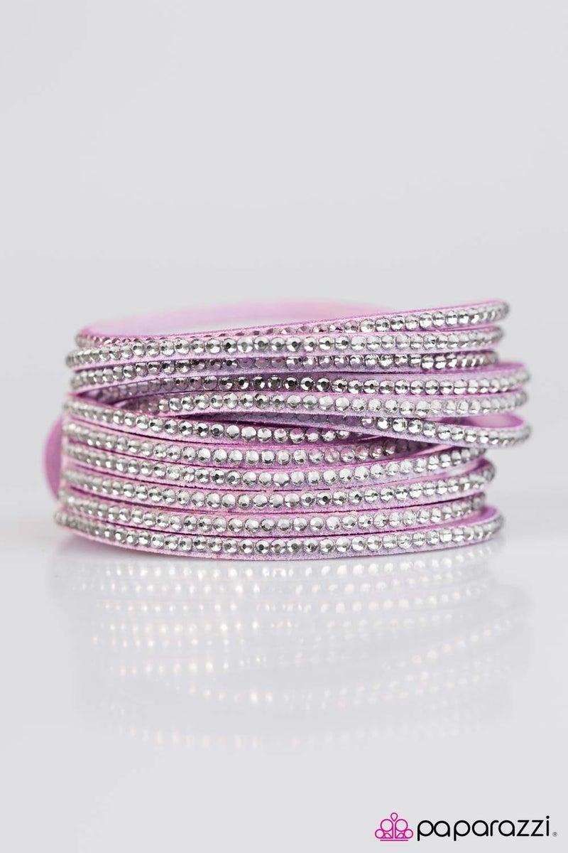 Do The Hustle - Purple Bracelet