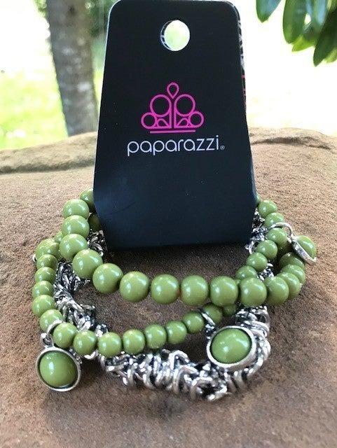 Good Vibes Only - Green Bracelet