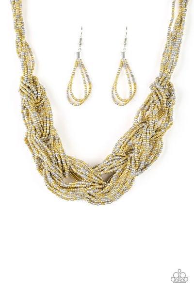 City Catwalk - Gold necklace