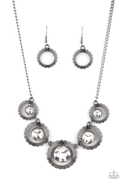 PIXEL Perfect - Black Necklace