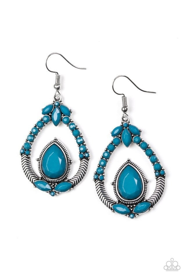 Vogue Voyager - Blue Earring