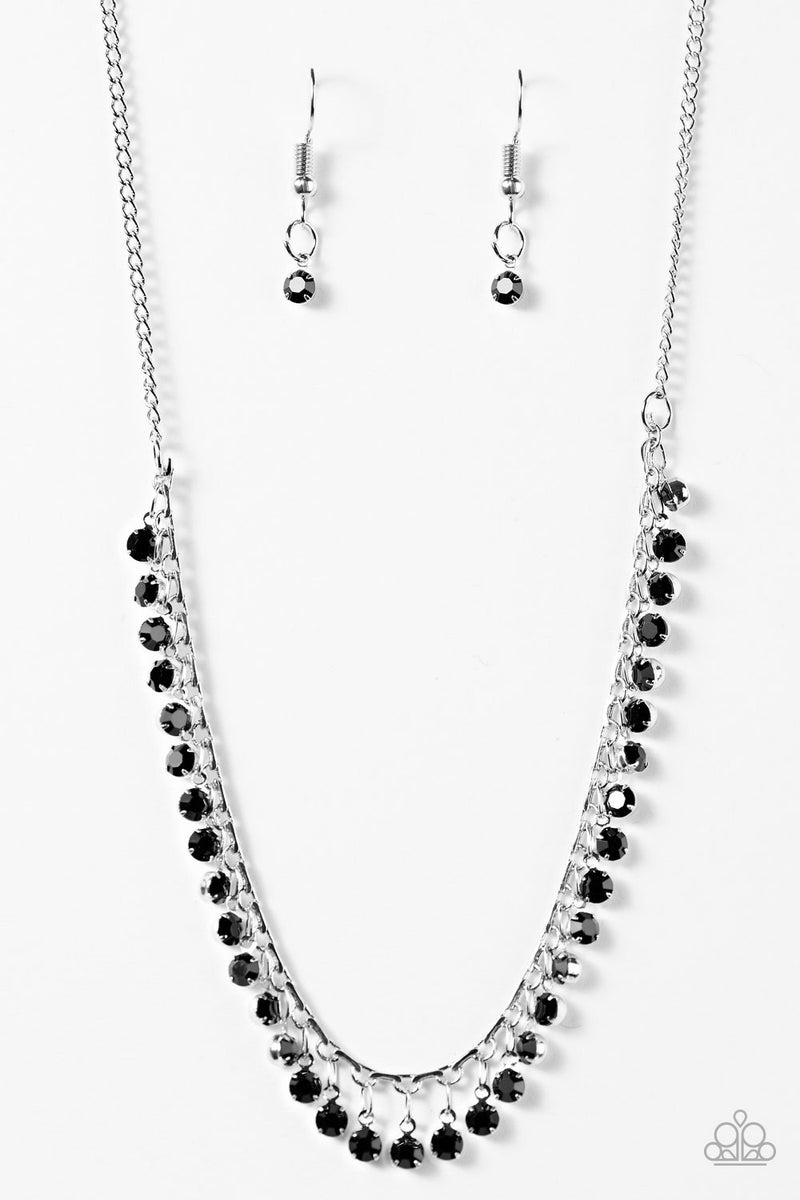 At First STARLIGHT - Black Necklace