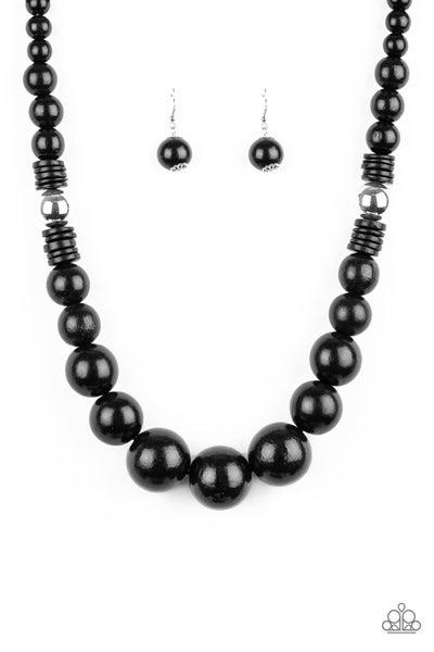 Panama Panorama - Black Necklace