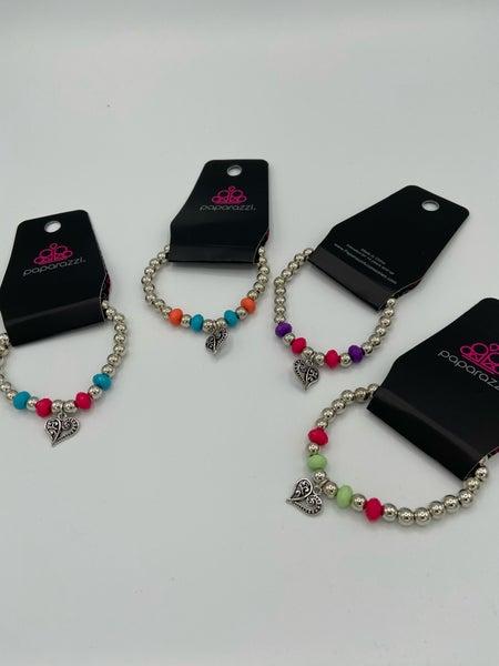 Starlet Shimmer - Heart Bracelet