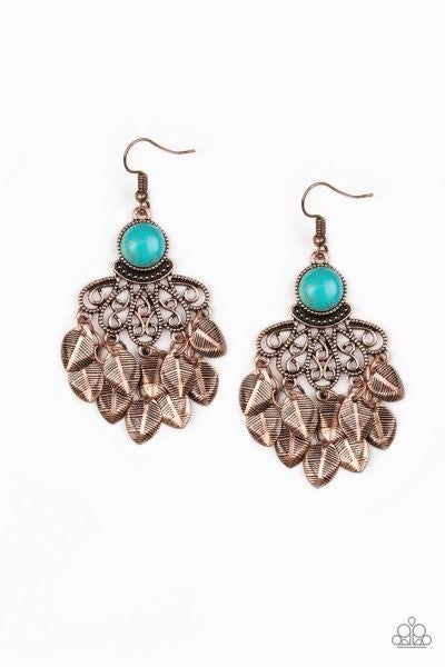 A Bit On The Wildside - Copper Earring
