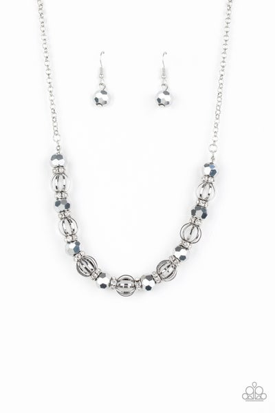 Metro Majestic - Silver Necklace