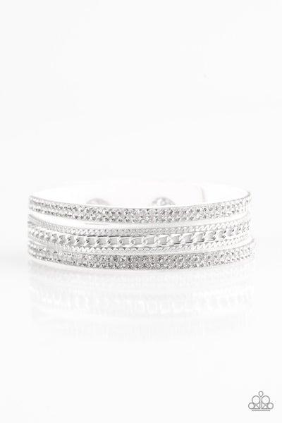 Unstoppable - White Bracelet
