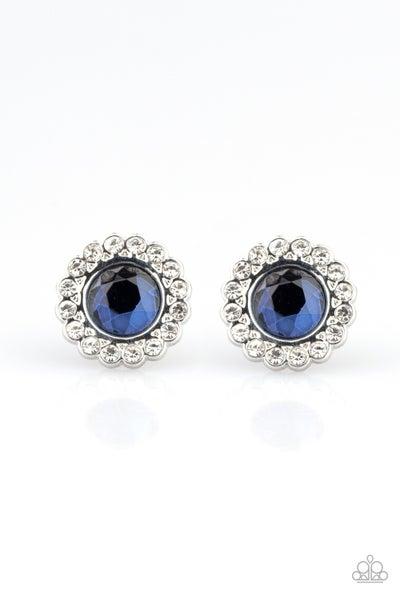 Floral Glow - Blue Earring