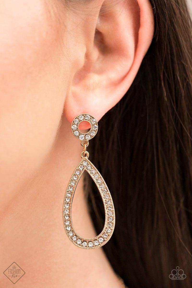 Regal Revival - Gold Earring
