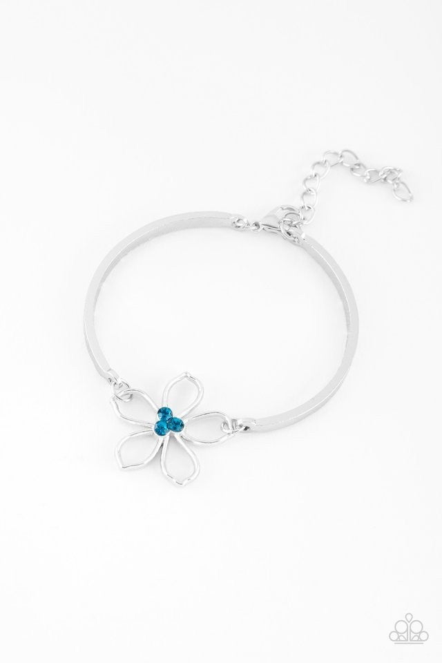 Hibiscus Hipster - Blue Bracelet
