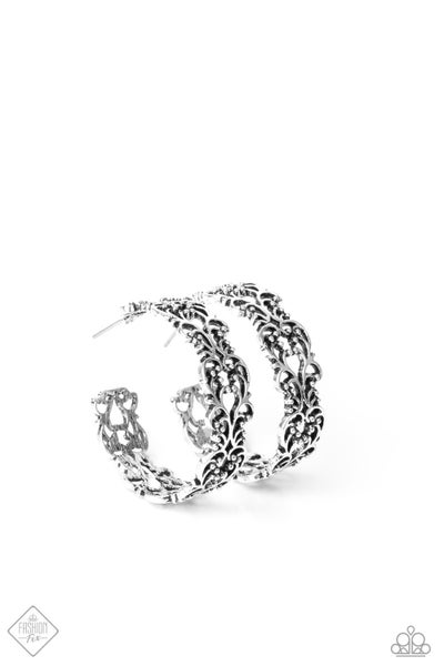 Laurel Wreaths - Silver Earrings