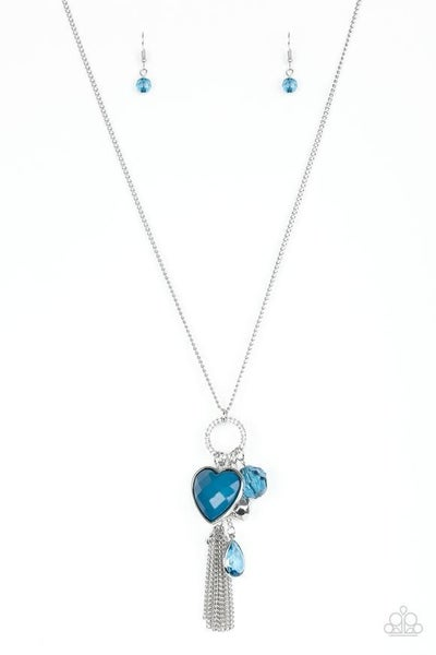 Haute Heartbreaker - Blue Necklace