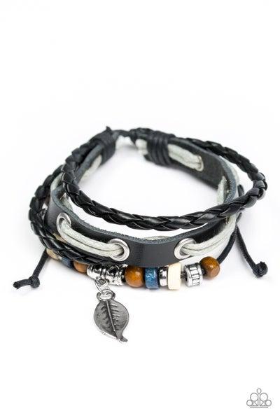 Ever Evergreen - Black Bracelet