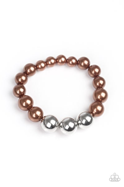 All Dressed UPTOWN - Brown Bracelet