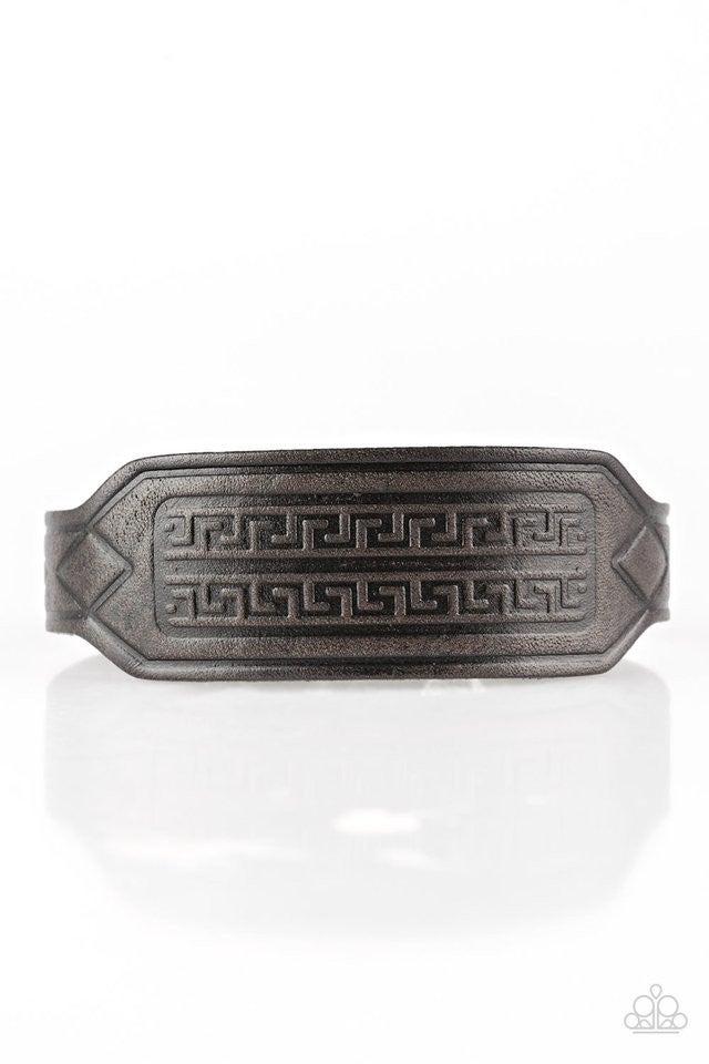 Hidden Ruins - Black Bracelet