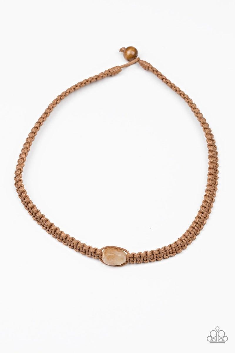 Urban Exploration - Brown Necklace