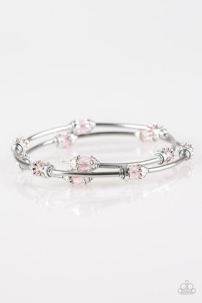 Into Infinity - Pink Bracelet