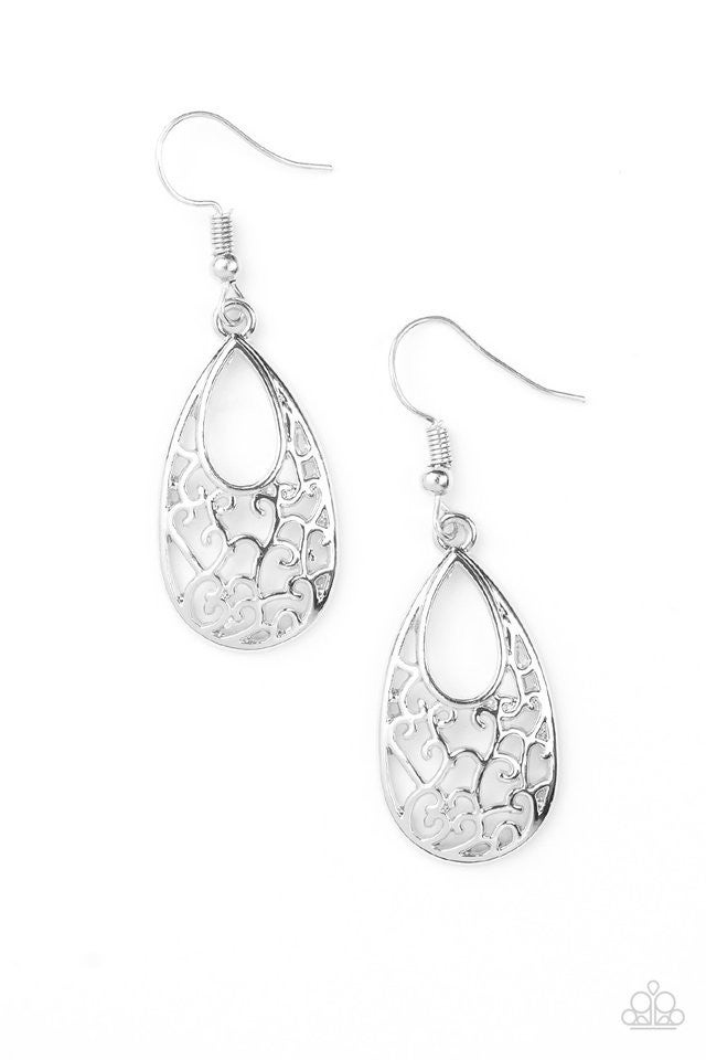 Always Be VINE - Silver Earring