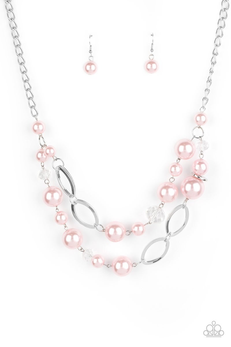 High Roller Status - Pink Necklace