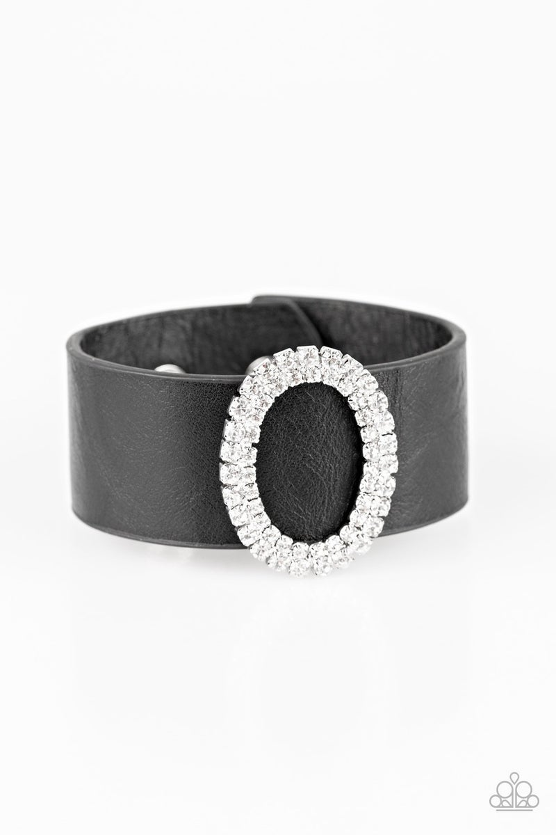 Center Stage Starlet - Black Bracelet
