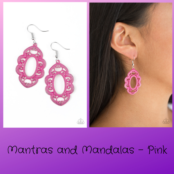 Mantras and Mandalas - Pink