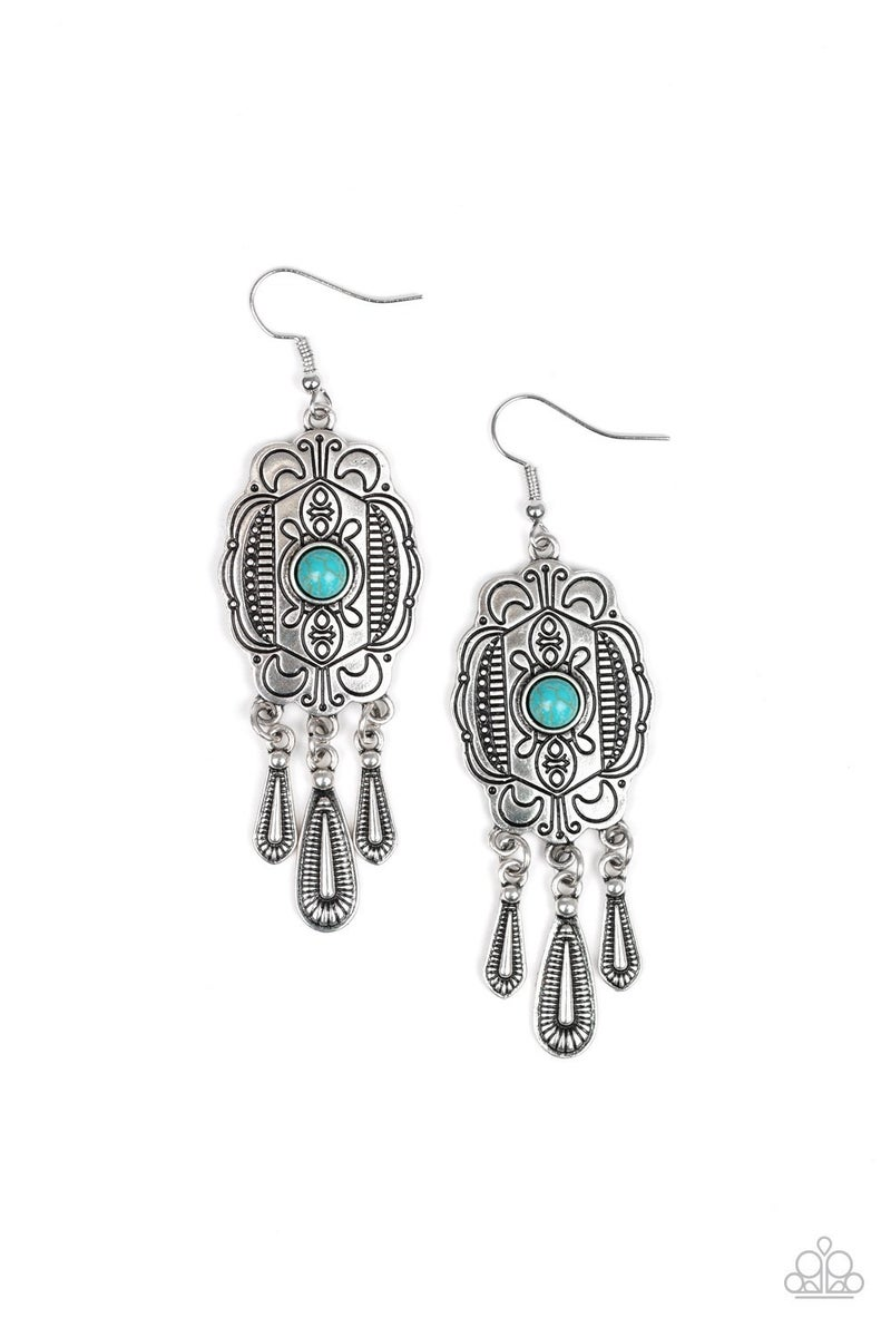 Natural Native - Blue Earring