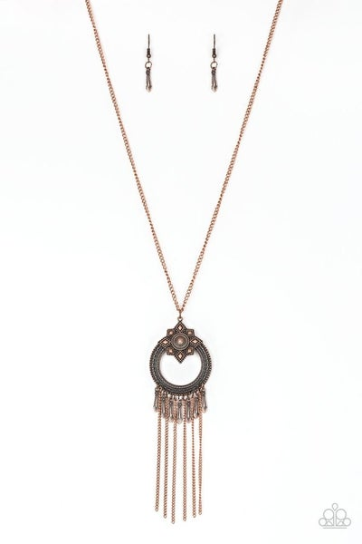 My Main MANTRA - Copper Necklace