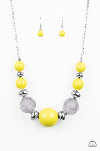 Daytime Drama - Yellow Necklace