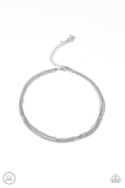 If You Dare - Silver Necklace
