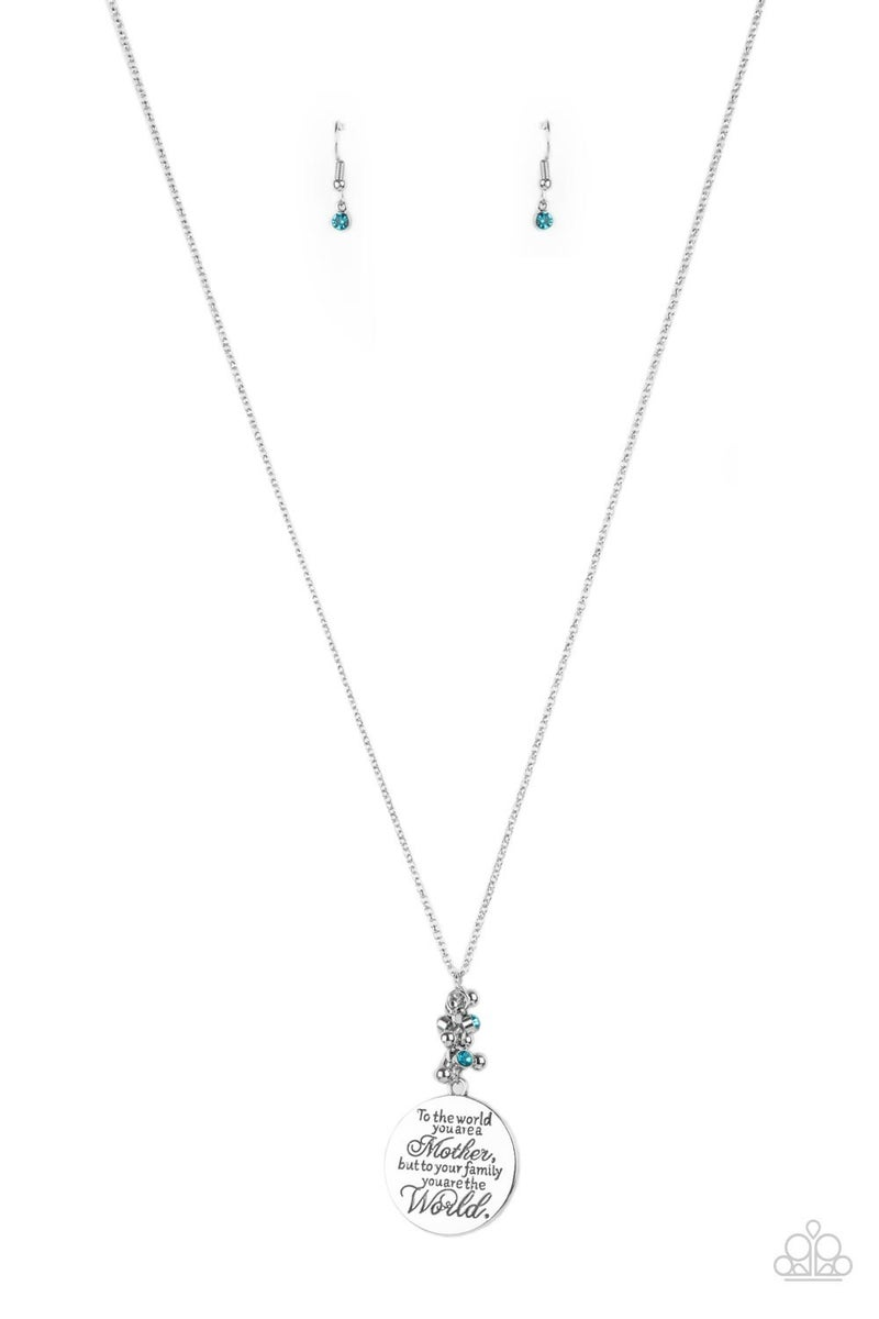 Maternal Blessings - Blue Necklace