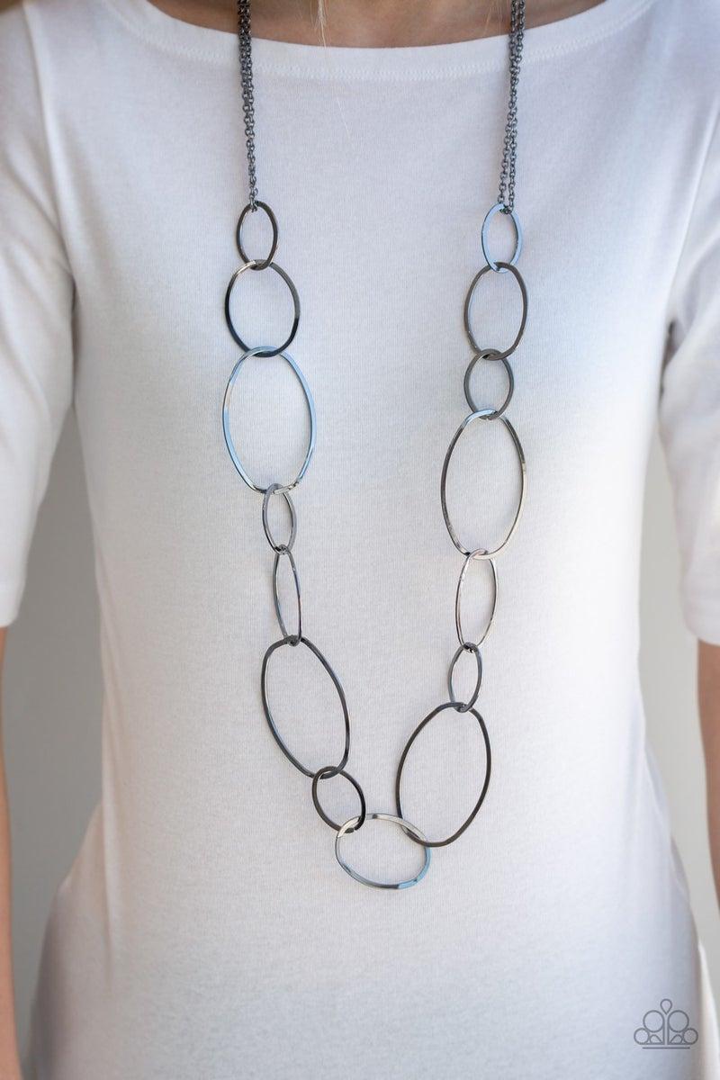 City Circuit - Black necklaces