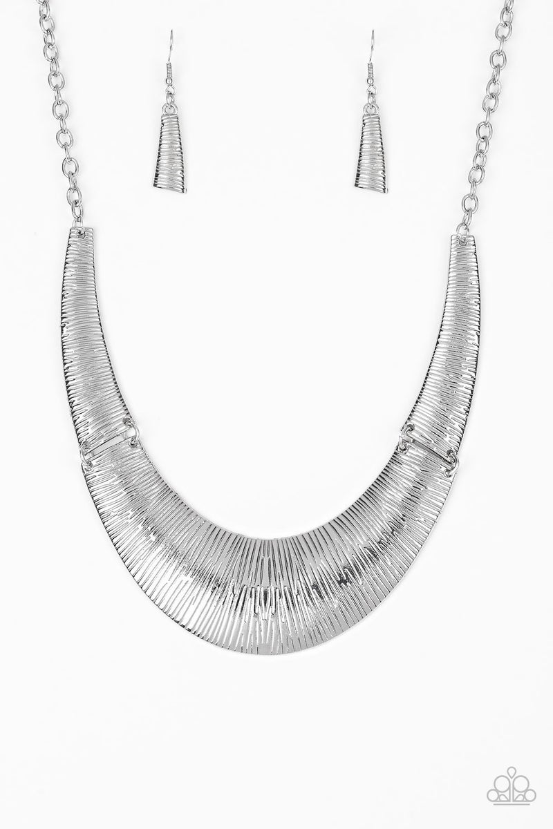 Feast or Famine - Silver Necklace