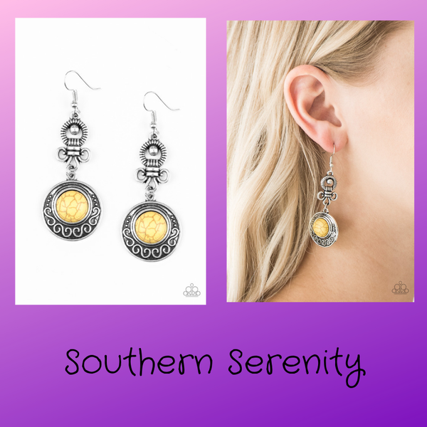 Southern Serenity - Yellow Earring