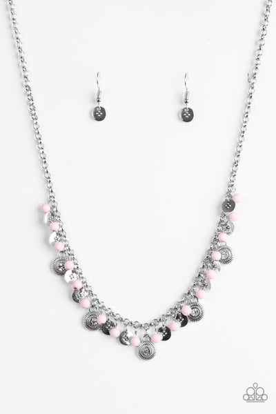 Fashion Formal - Pink Necklace