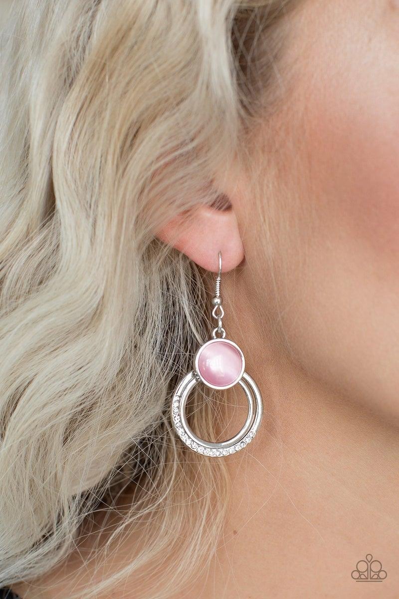 Dreamily Dreamland - Pink earring