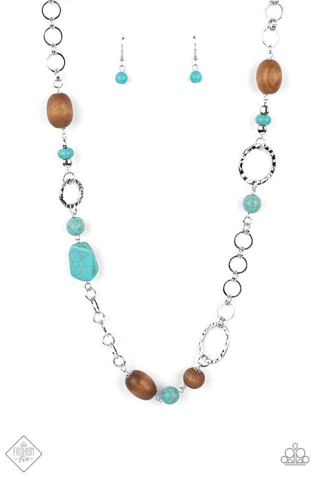 Prairie Reserve - Blue Necklace
