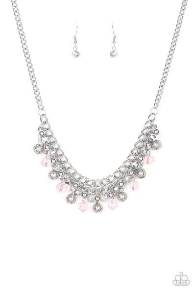 Party Spree - Pink Necklace