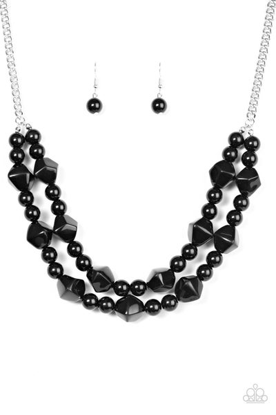 Galapagos Glam - Black Necklace