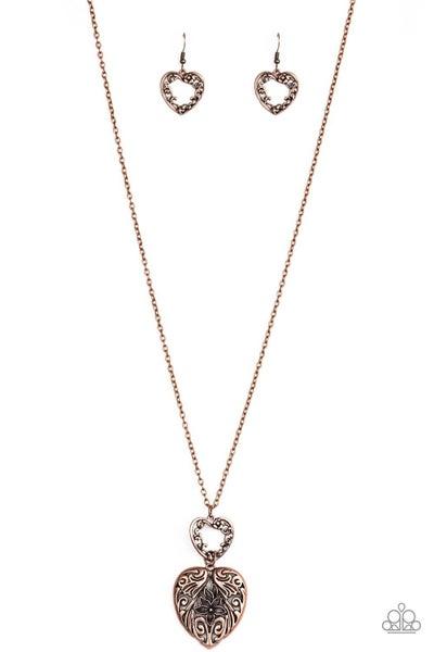 Garden Lovers - Copper Necklace