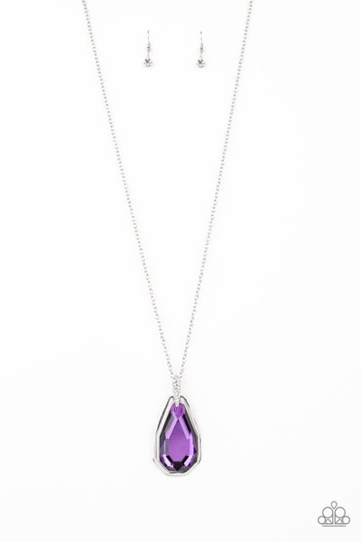 Maven Magic - Purple Necklace