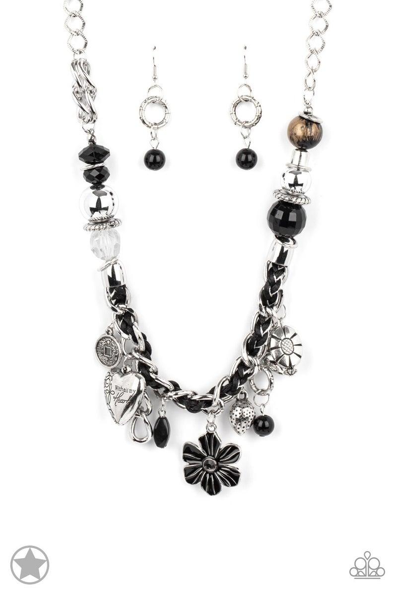 Charmed, I Am Sure - Black Necklace