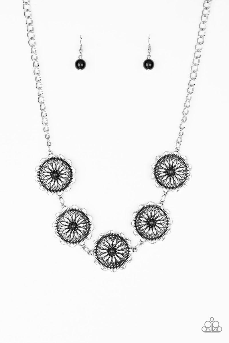 Me-dallions, Myself, and I - Black Necklace