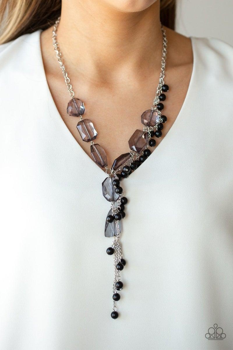 Prismatic Princess - Black Necklace