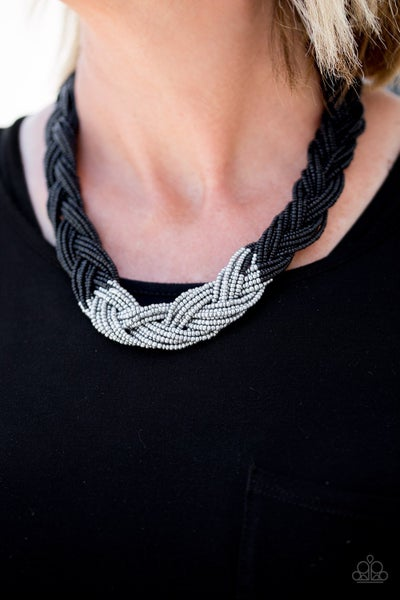 Brazilian Brilliance - Black Necklace