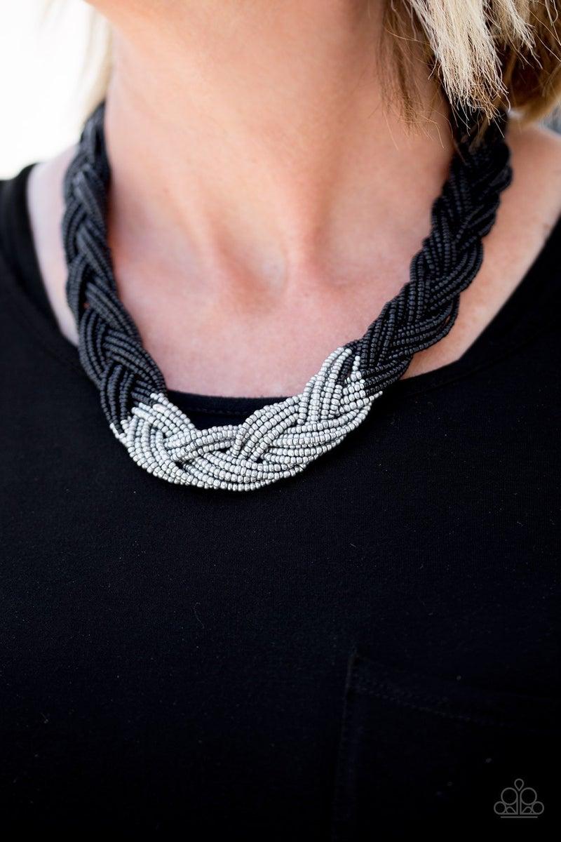 Brazilian Brilliance - Black Necklace